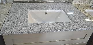 pre fab gray granite vanity top vanity counters
