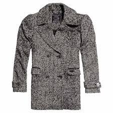 superdry classic wool peacoat
