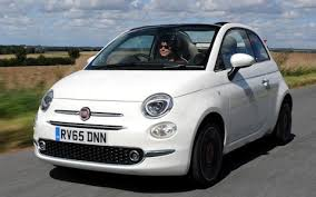 fiat 500 2015. driving the fiat 500 2015