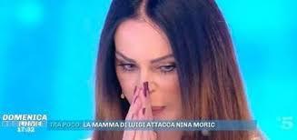 Domenica Live, Nina Moric: pesanti accuse a Luigi Favoloso ...