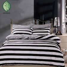 striped bedding sets twin queen full zebra black and white blue duvet cover set houndstooth bedclothes checd 2 green bedding sets queen bedding set
