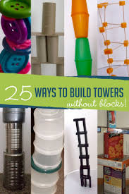 25 ways to build towers without blocks
