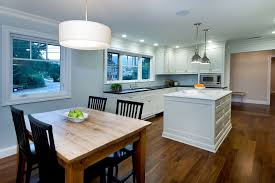 dinner table lighting. Kitchen Table Lighting Dining Room Contemporary With Cabinetry Dinner A