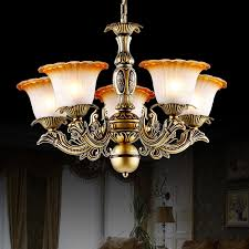 vintage 5 light glass shade kitchen chandelier for bedroom glass shades for chandelier