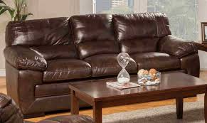 Top Grain Leather Living Room Set New Classic Archer Tobacco Top Grain Leather Living Room Set By