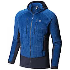 Mountain Hardwear M Monkey Man Grid Ii Hooded Jacket Nightfall Blue