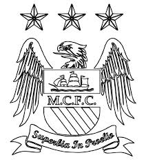 Small Picture Print Manchester City Logo Soccer Coloring Pages or Download