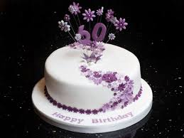 Simple Cake Decorating Ideas Flowers 60th Birthday Effective Pink