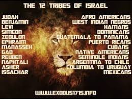 Israelite Chart 12 Tribes Chart Non Negro Challenge Bastards Not Israel