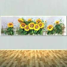 sunflower wall decor metal fresh best reception area art images on abstract decals outdoor stickers