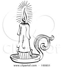 Small Picture Royalty Free RF Clipart Illustration of a Black And White