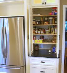 Diy Kitchen Pantry Cabinet Pantry Next To Counter Depth Fridge Zessn Kitchens Pantries