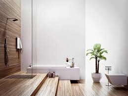 bamboo flooring in bathroom. Everything You Have To Know About Bamboo Flooring Bathroom : Fresh Plant On White Pot Near In