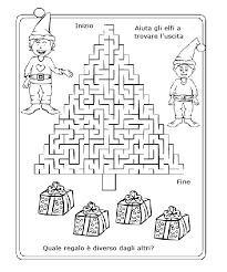 Labirinti Da Stmpare Con Gli Elfi Disegni Da Colorare E Stampare