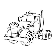 Vrachtautos Kleurplaten Kleurplatenpaginanl Boordevol Coole