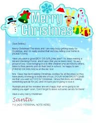 Christmas Note Template Christmas Letter Template Word Free Letter Template Letter Template