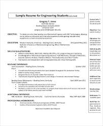 Entry Level Mechanical Engineering Resume Best Free Engineering Resume Templates 48 Free Word PDF Documents