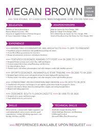 11 Simple Resume Templates Microsoft Word Skills Based Certified
