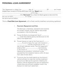 Simple Loan Agreement Template Free Elegant Wedding Contract
