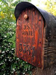 671 Best Youu0027ve Got Mail Images On Pinterest  Unique Mailboxes Country Style Mailboxes
