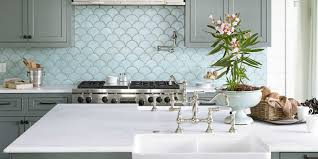 Kitchens Interiors Ocean Inspired Kitchen Urban Grace Interiors Kitchen