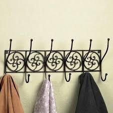 Decorative Coat Racks Wall Mounted Awesome Decorative Coat Hooks Wall Mounted Ideas Home Designs Insight