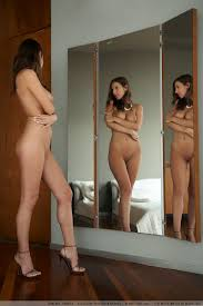 Nude Selfies Naked on heels with three different angles one.