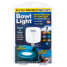 As Seen on TV Bowl <b>Light Motion</b>-<b>Activated</b> LED <b>Toilet Light</b>, 1 Each ...