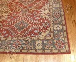 rustic rugs pottery barn wool rug 8 authentic persian leslie