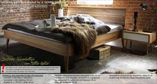 Massivholz Bett Bettgestell Modern Sleep Von Dänischem Hersteller