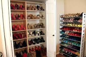 closet closetmaid shoe storage shelf support with a decor organizer espresso
