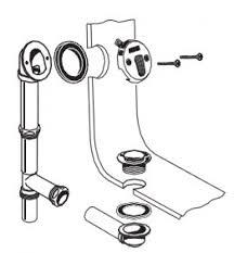 how install a bathtub drain 20 overflow 20 drain 20 assembly best overflow assembly duletatic info