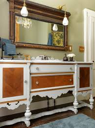 furniture repurpose ideas. Bathroom:Repurposed Bathroom Vanity Ideas Sink Mirror Vintage Storage Furniture Medicine Cabinet Best Repurpose Dresser