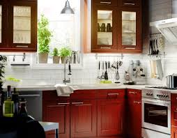 subway tile backsplash with cherry cabinets.  With White Tile Backsplash With Cherry Cabinets Throughout Subway Tile Backsplash With Cherry Cabinets A