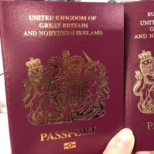 United Kingdom Title Ahead Issues Passports European Union Brexit Without Of