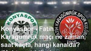 Konyaspor - Fatih Karagümrük maçı ne zaman, saat kaçta, hangi kanalda?  (Muhtemel 11'ler) - YouTube