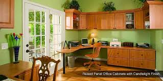 home office decorators tampa tampa. Arctic Finish Custom Home Office Cabinets Raised Panel In Candlelight Decorators Tampa