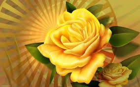 🥇 3d rose flower wallpaper