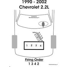 solved firing order diagram 95 chevrolet cavalier 2 2l fixya i need the firing order of a four cylinder 1994 chevy cavalier vl and the diagram