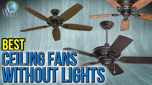 Ceiling fans without lights 40 Inch Video Play Icon 10 Best Ceiling Fans Without Lights Tariqalhanaeecom Top 10 Ceiling Fans Without Lights Of 2018 Video Review