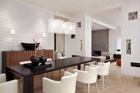 dining room lighting trends. Modern Dining Room Light Fixtures With Black Rectangular Table And Unique Wall Decor Ideas For Latest Home Trends 2017 Lighting R