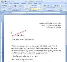 Word Mail Merge Merging For Dummies Creating Mail Merge Letters In Word