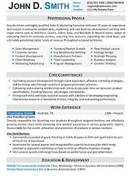 Resume Samples Types Of Resume Formats Examples Templates
