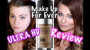 makeup forever ultra hd foundation review oily skin