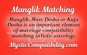 Manglik Matching Mystic Compatibility