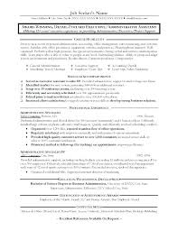 Executive Assistant Career Objective Personal Assistant Resume Objective Personal Personal Assistant