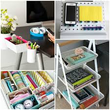 Office desk organization ideas Organizer Wood Desk Organization Ideas One Crazy House 16 Ideas For The Most Organized Desk Ever