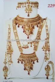 whole indian bridal jewelry set indian polki bridal jewelry set rani haram set