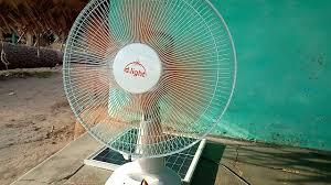 D Light Fan D Light Sf 20 Solar Fan Youtube