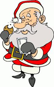 cookies for santa clip art. Contemporary Cookies Santa Claus Eating Clipart 1 Inside Cookies For Clip Art O
